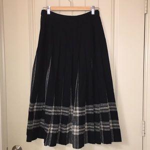 Pendleton classic full pleated Wool Skirt sz 6